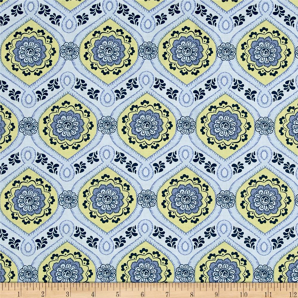 Sew It- Quilt It- Love It! Medallions Blue