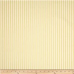 Magnolia Home Fashions Cottage Stripe Yellow