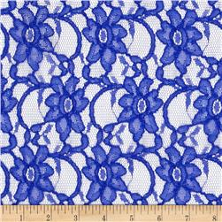 Supreme Lace Royal Fabric