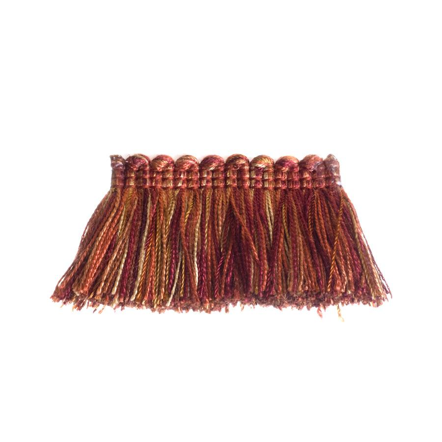 Trend 01243 Brush Fringe Rust