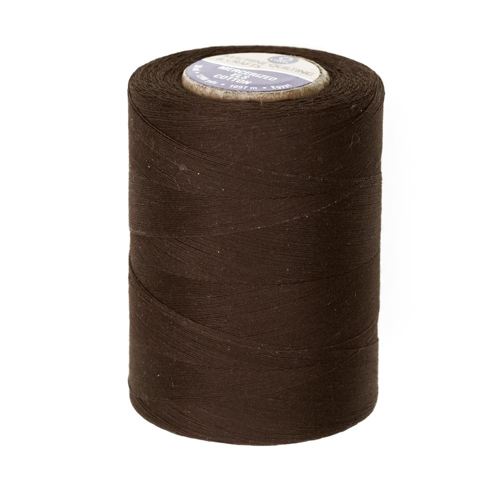 Cotton Machine Quilting Thread 1200 YD Chona Brown