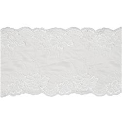"7.5"" Annabel Chantilly Stretch Lace Trim Ivory"