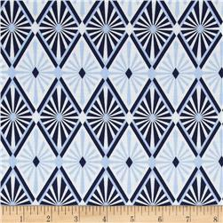 Jenean Morrison True Colors Diamond Blue Fabric
