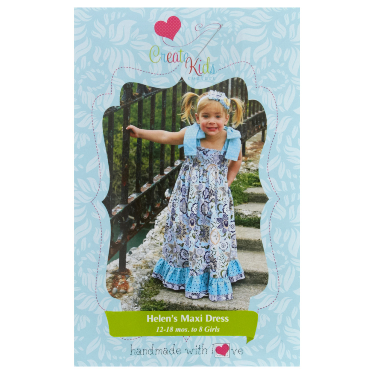 Create Kid's Couture Helen's Maxi Dress Pattern