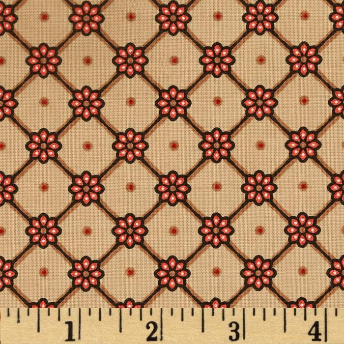 Road Well Traveled Small Floral Brown