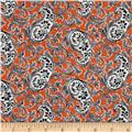 Verna Mosquera Candelabra Paisley Potion Orange