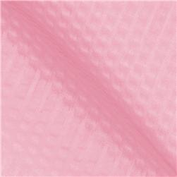 Poly/Cotton Plisse Baby Pink Fabric