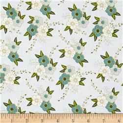 Riley Blake Wonderland Floral Blue