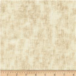 Timeless Treasures Studio Brushed Linen Texture Cream