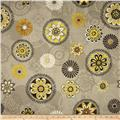 Felicity Floral Medallions Grey