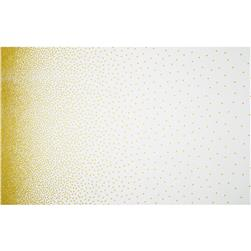 Michael Miller Glitz Metallic Confetti Single Border Pearlized
