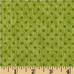 Herb Garden Dots Olive Fabric