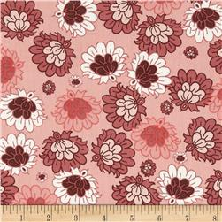 Art Gallery Botanica Deco Flowers Salmon