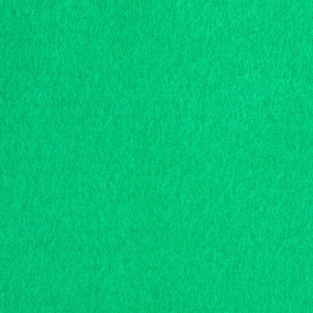 Warm Winter Fleece Solid Kelly Green Fabric