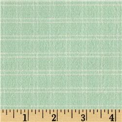 Flannel Plaid Mint Green