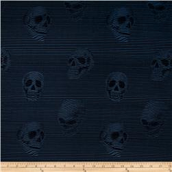 Alexander Henry Skullduggery Between the Lines Denim