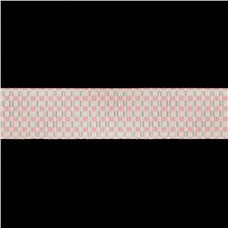Riley Blake 5/8'' Grosgrain Ribbon Gingham Pink