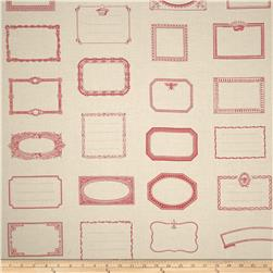 Moda Souvenir Quilt Labels Rouge
