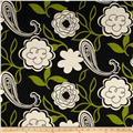 Georgette Home Decor Jaime Floral Black/Tan