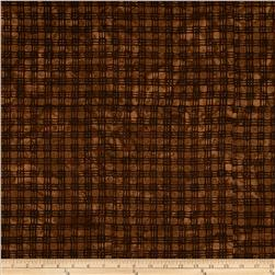 Bali Batiks Plaid Brown