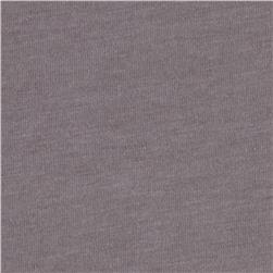 Cotton Lycra Jersey Knit Warm Grey