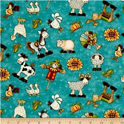McAnderson's Farm Characters Teal