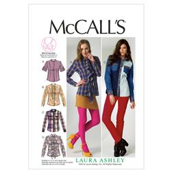 McCall's Misses' Blouses Pattern M6649 Size B50