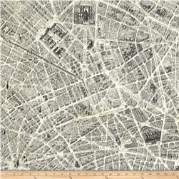 Destination Paris Map Multi