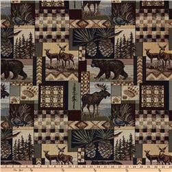 Regal Peters Cabin Patch Jacquard Stone