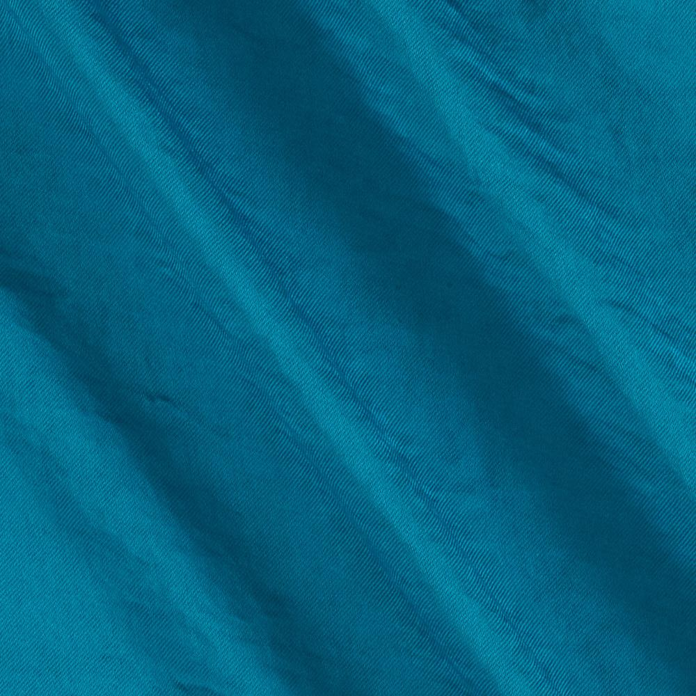 Soft Crush Crepe De Chine Ocean Blue