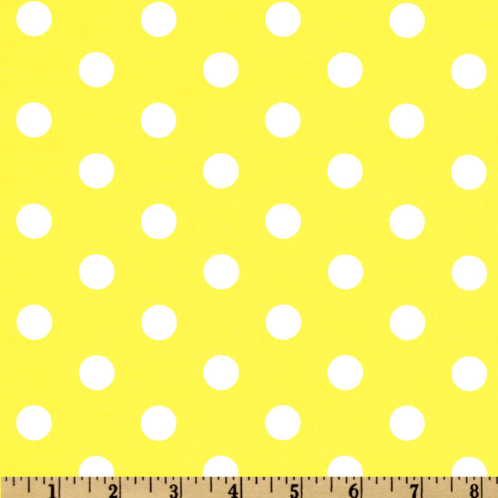Spot On Polka Dots Yellow