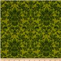 Botanica III The Scarlet Story Damask Green