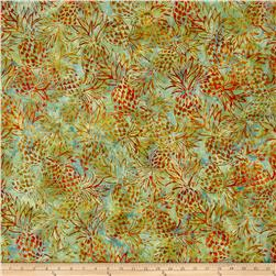 Kaufman Artisan Batiks Totally Tropical Pineapples Pineapple