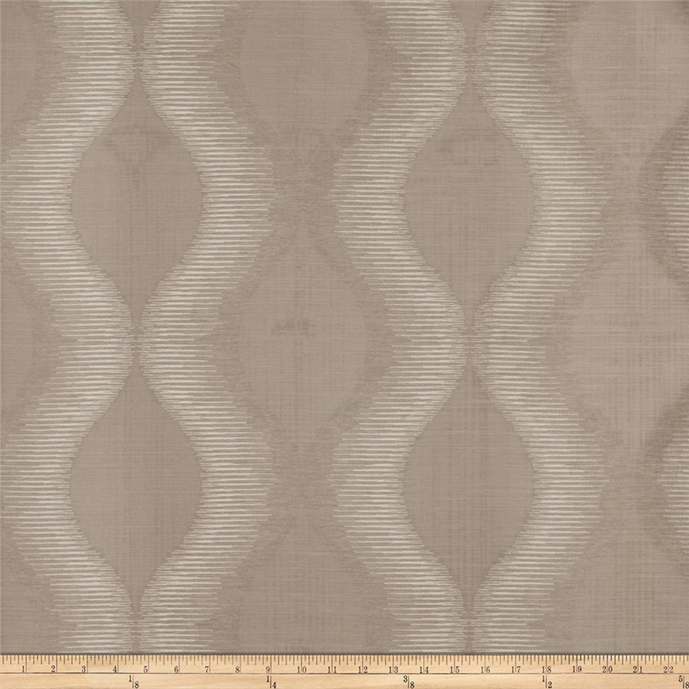 Fabricut Simple Plan Jacquard Taupe