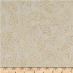Tonga Batiks Lace Tossed Leaves Foam Fabric