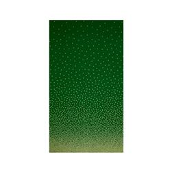 Michael Miller Holiday Glitz Confetti Border Spearmint