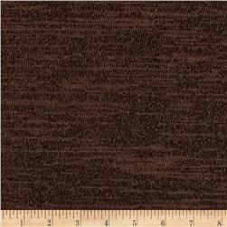 Stretch Hatchi Knit Solid Dark Brown