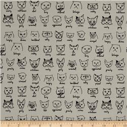 Moda Meow or Never Catatude Tomcat Grey