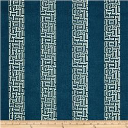 Magnolia Home Fashions Plaza Stripe Navy