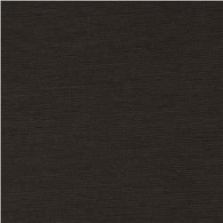 Ponte de Roma Knit Dark Brown Fabric