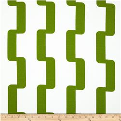 Premier Prints Indoor/Outdoor Rhyme Bay Green Fabric