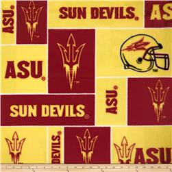 Collegiate Fleece Arizona State University Maroon