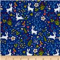 Timeless Treasures You Are Magical Bunnies Blue