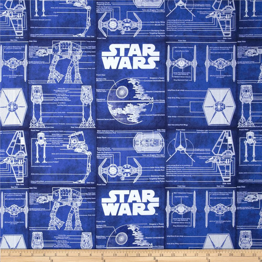 Object moved for Star wars fabric