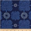 Ty Pennington Home Decor Sateen Fall 11 Taj Navy