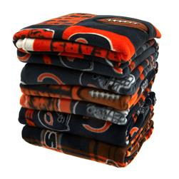 Three Pound NFL Fleece Remnant Bundle Chicago Bears