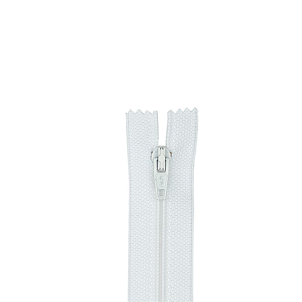 TROUSER ZIPPER 11'' White