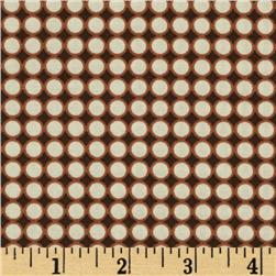 Styl Mod Small Circles Brown/Cream