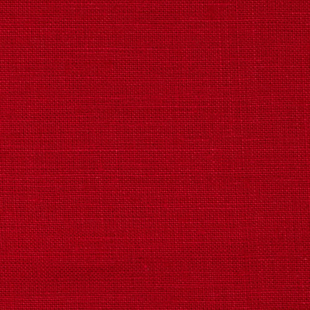 Formenti 100 linen red discount designer fabric for Fabric cloth material