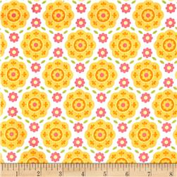 Riley Blake Summer Song 2 Floral Yellow